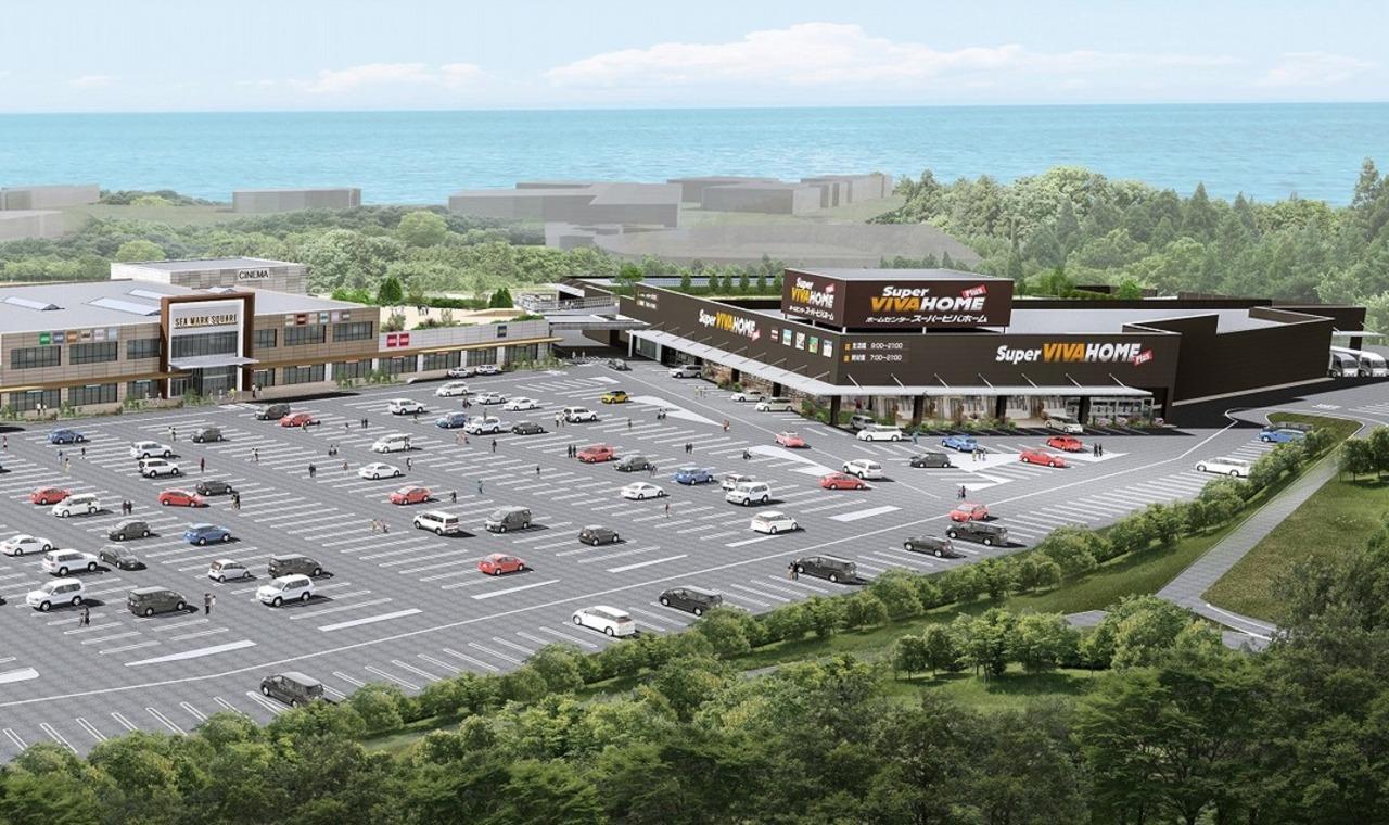 茨城県の日立市公設地方卸売市場跡地に複合商業施設「シーマークスクエア」3月開業予定!