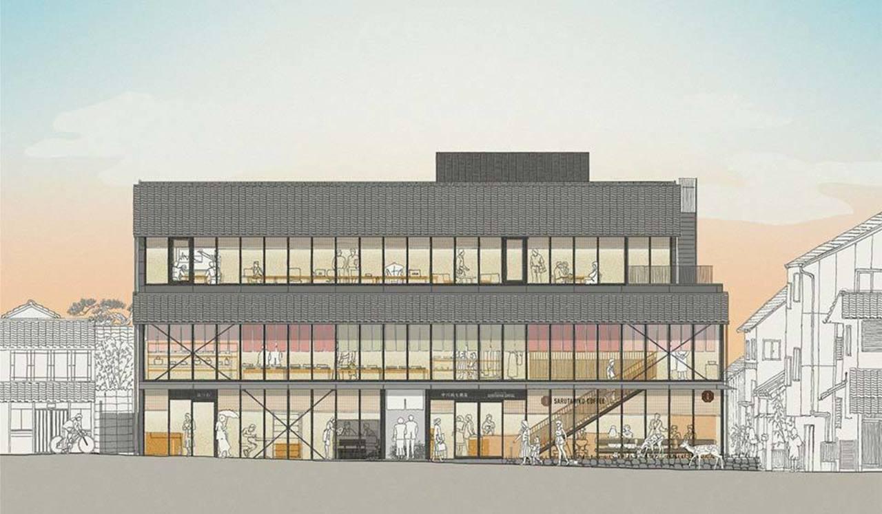 中川政七商店初の複合商業施設。。。奈良市元林院町に『鹿猿狐ビルヂング』4/14グランドオープン