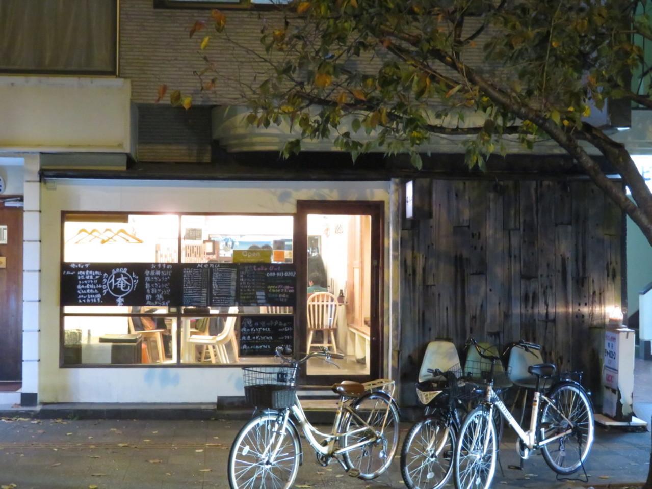 JR松山駅前で餃子と唐揚げと言えば、『俺のギョーザ』