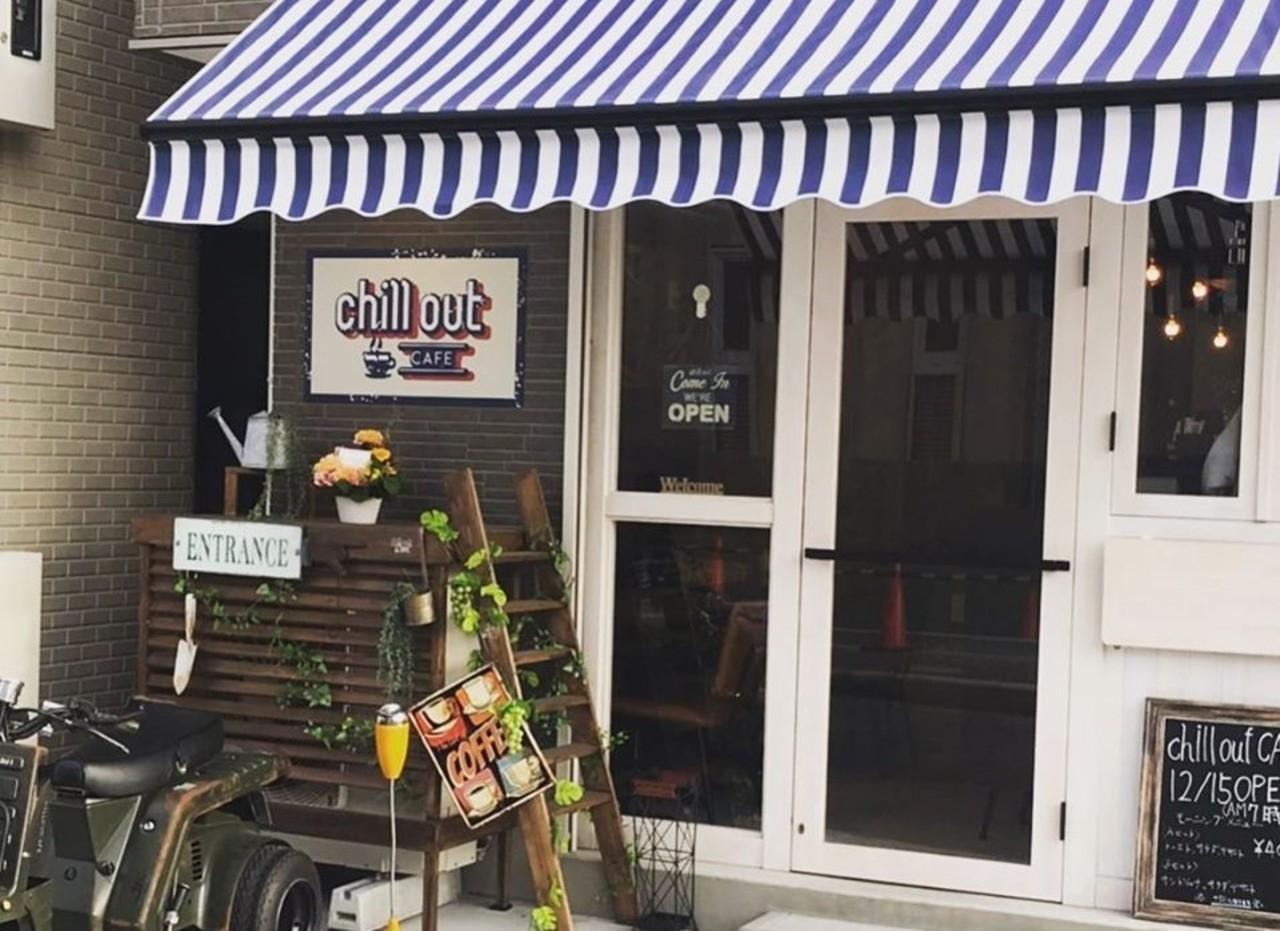 ライダーの集まるカフェ...大阪市東淀川区北江口4丁目の「チルアウトカフェ」