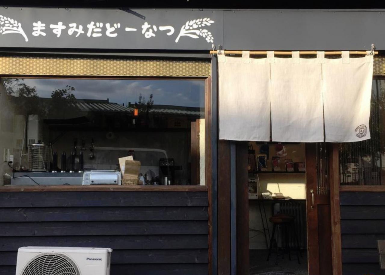 一宮市真清田神社参道西の「ますみだどーなつ」が1/27にグランドオープンのようです。