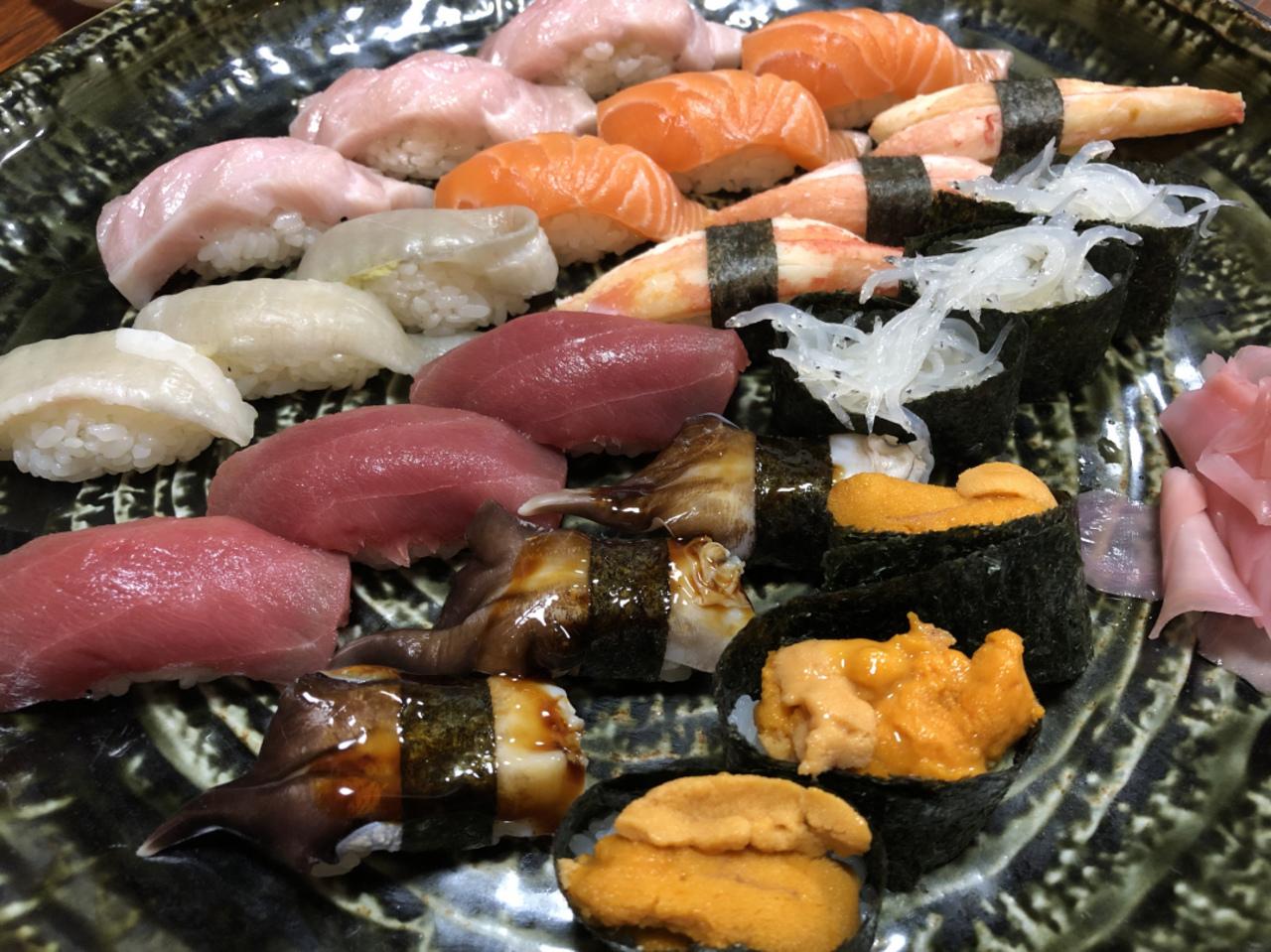 にしおか 寿司さんへ!