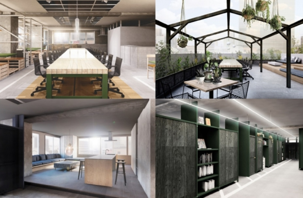 新宿駅直結、暮らしを自由にするオフィス「12 SHINJUKU」8月20日オープン!