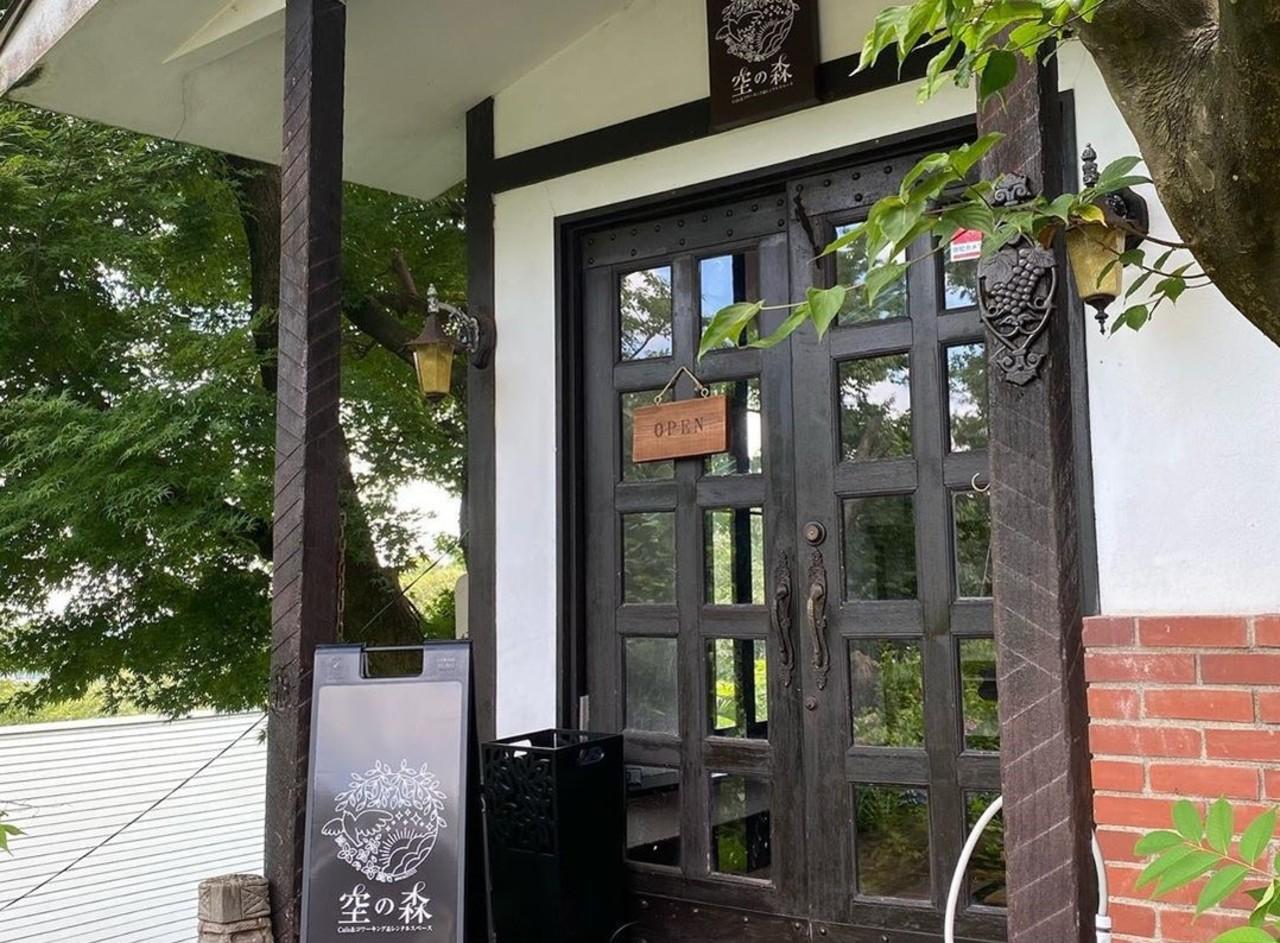 森の中の隠れ家オフィス&カフェ...富山県富山市呉羽町に「空の森」7/17オープン