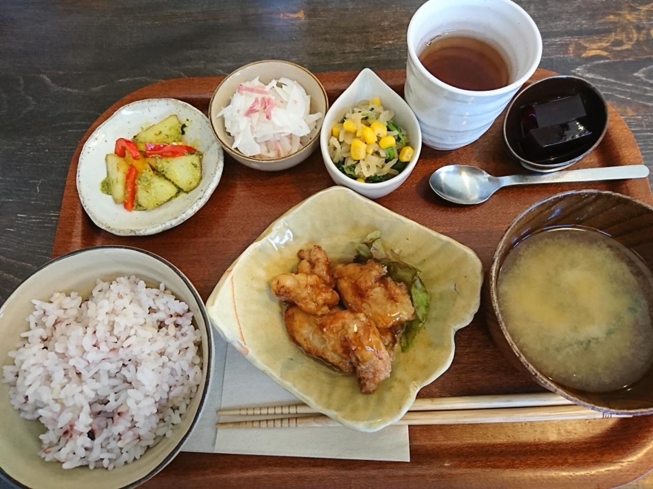 名張旧町の隠れ家カフェミューク(cafe mjuk)