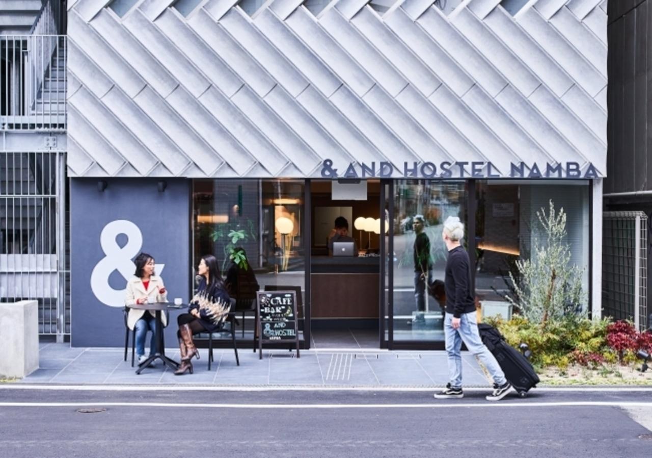 大阪市浪速区のスマートホステル『&AND HOSTEL NAMBA』2/1open
