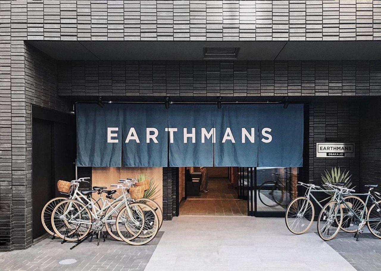 大阪市中央区のアパートホテル『EARTHMANS OSAKA-JO』2019.12/1open