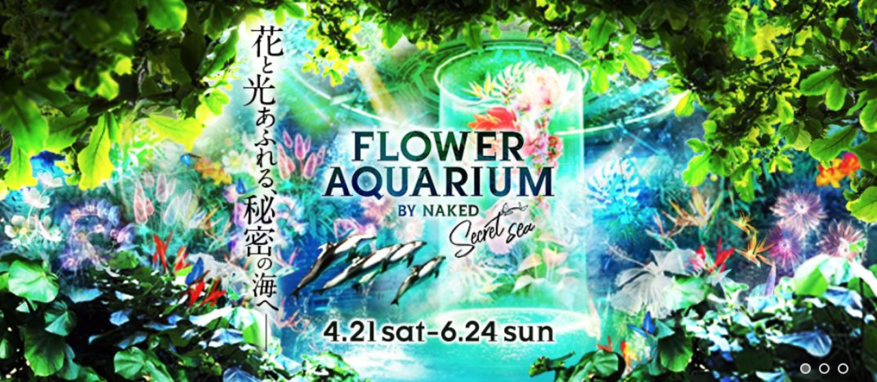 FLOWER AQUARIUM BY NAKED-secret sea-