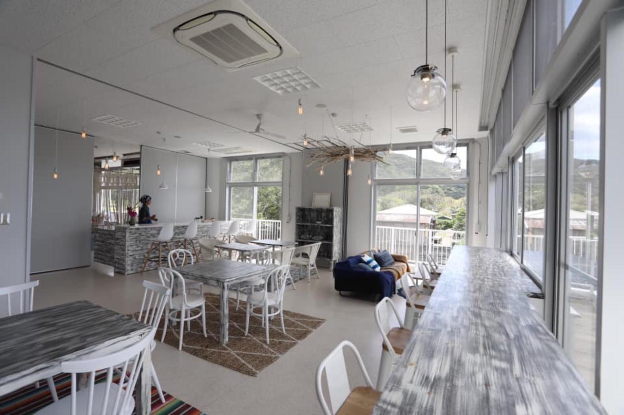 鹿児島県大島郡瀬戸内町諸鈍の加計呂麻島展示・体験交流館内に「かけろまカフェ」オープン!