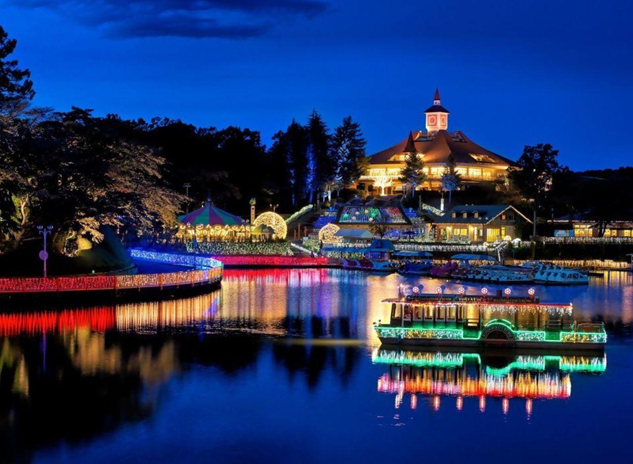 自然と動物に触れあえるワンダーランド...栃木県那須郡那須町高久丙の「那須りんどう湖レイクビュー」