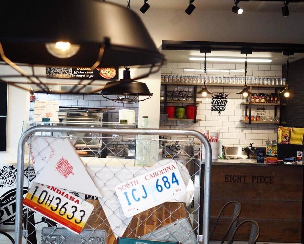 熊本出仲間にNewYork PIZZA『EIGHT PIECE』オープン。