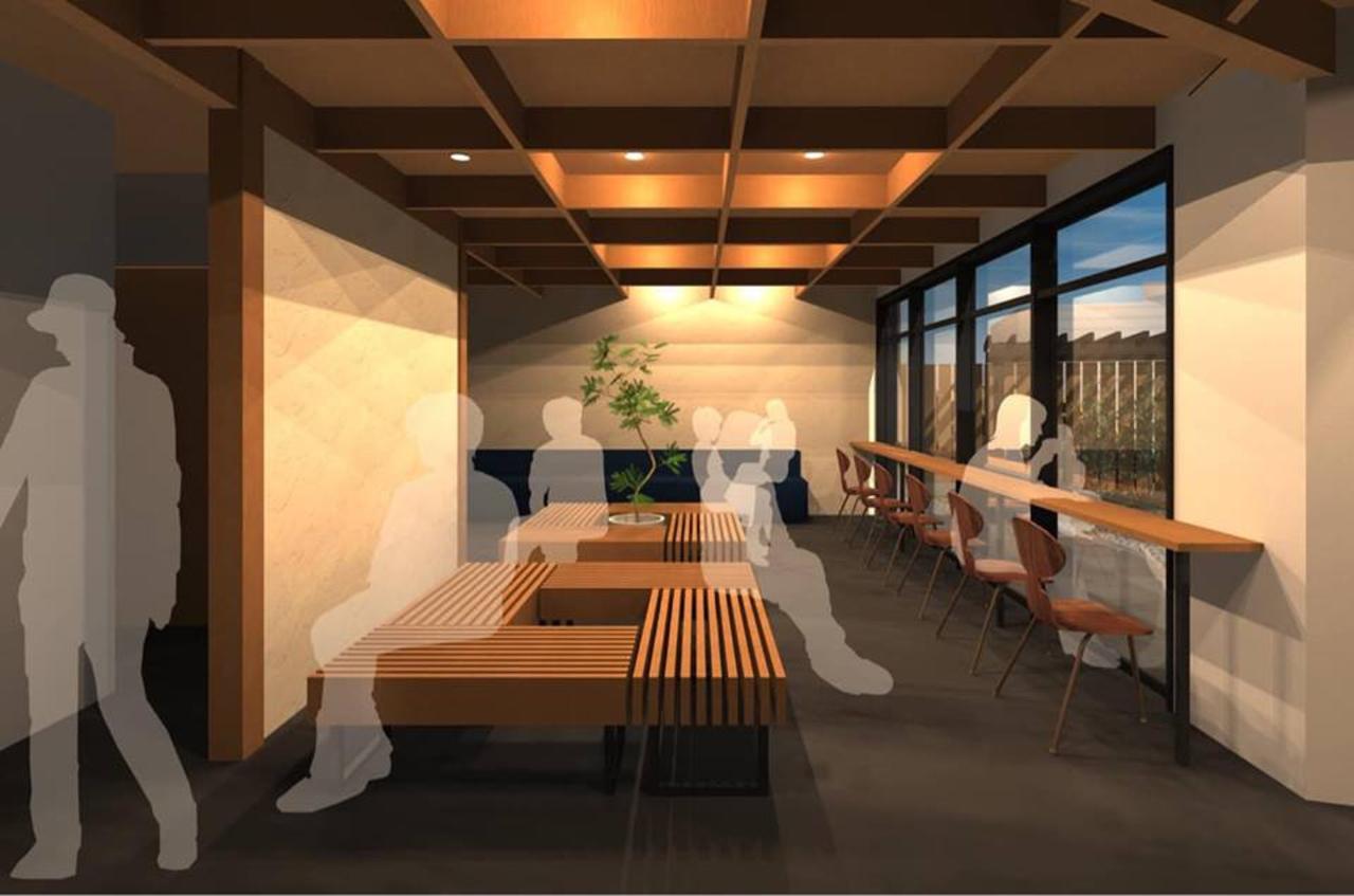 人力車えびす屋のカフェと車庫...JR嵯峨嵐山南出口近くに『リキシャカフェ』3/29オープン