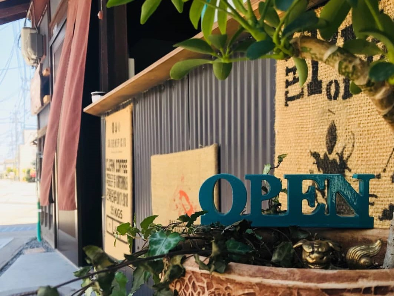 古民家を改装した珈琲焙煎所...岡山県総社の商店街通りに『豆Lab.』オープン