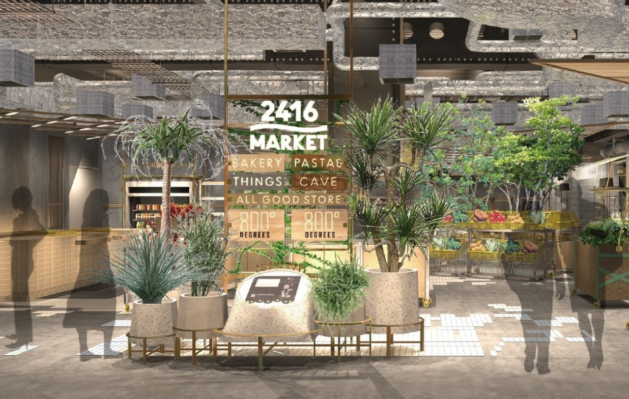 横浜駅西口のニュウマン横浜6Fに「2416マーケット」6月24日オープン!