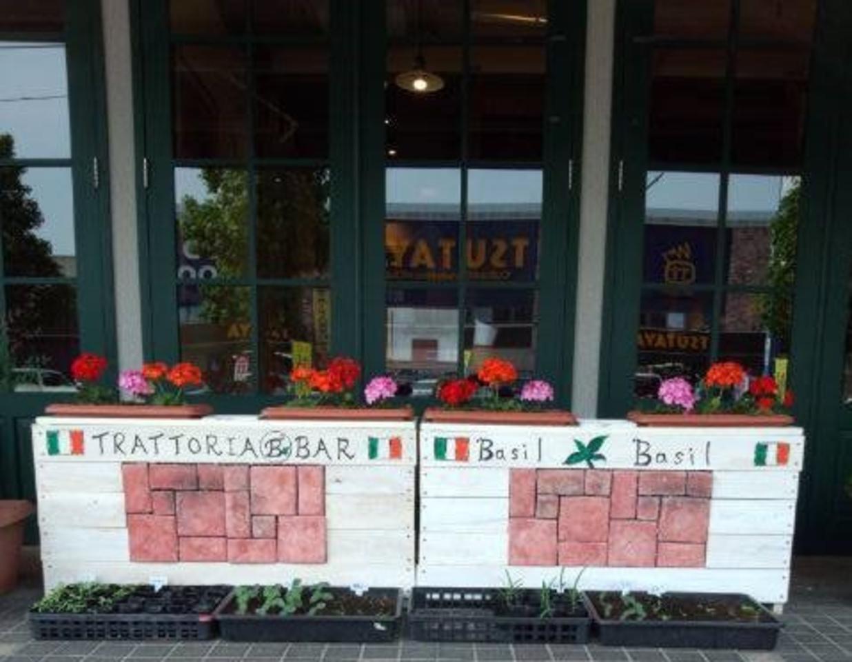 居酒屋風のイタリア料理店...佐賀市兵庫南3丁目の「伊酒屋バジルバジル」