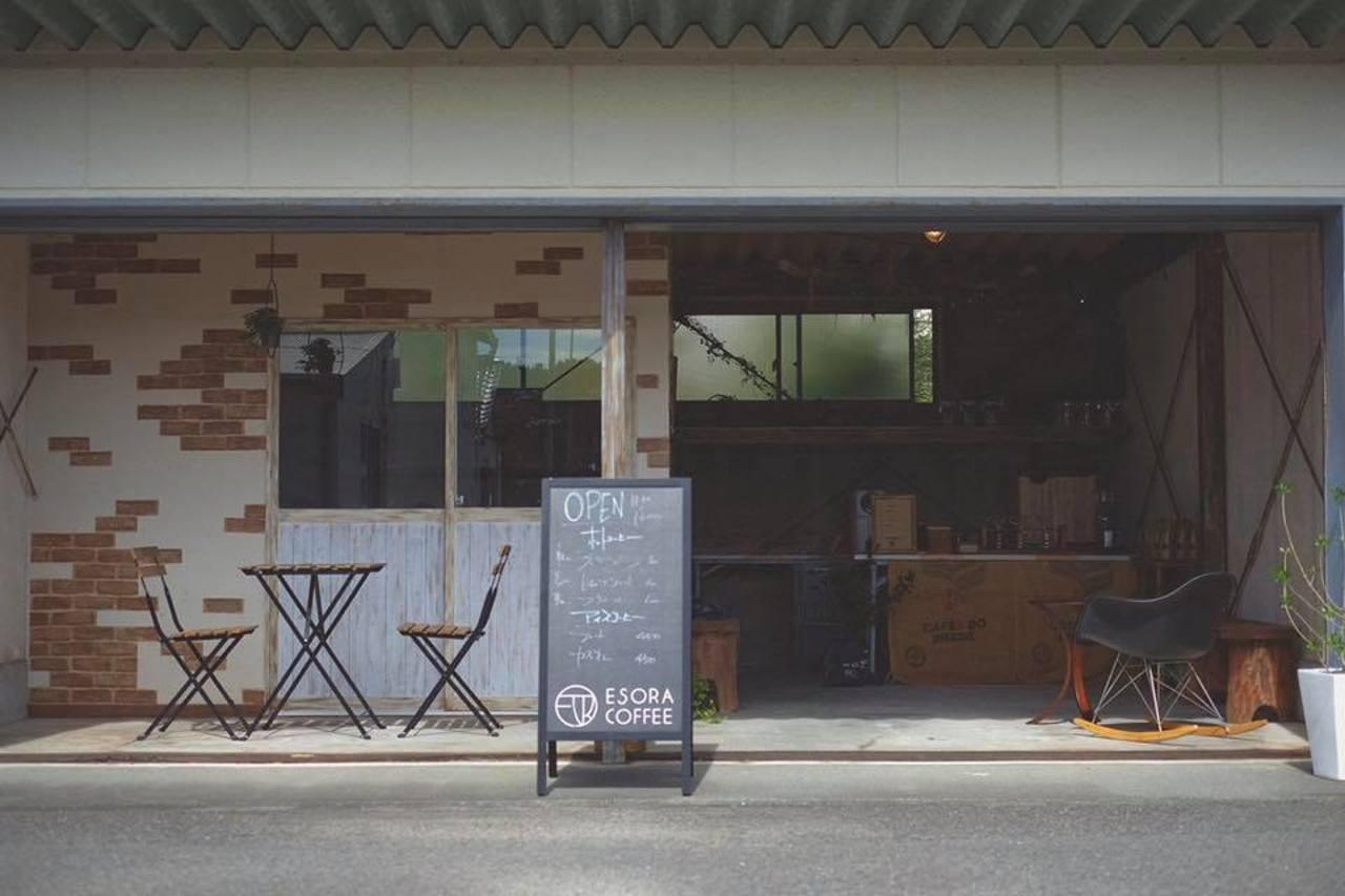 豊かな時間、あなたに...静岡県焼津市吉永にコーヒースタンド「エソラコーヒー」本日グランドオープン