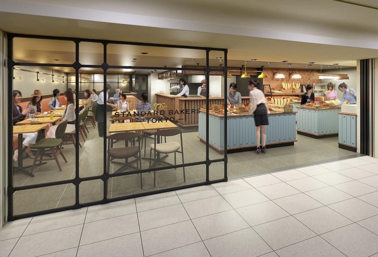 東京駅グランスタ1階にベーカリーカフェ「ザスタンダードベイカーズトーキョー」6月17日オープン!