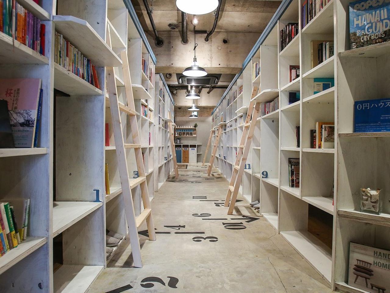 新潟市中央区のゲストハウス『BOOK INN』