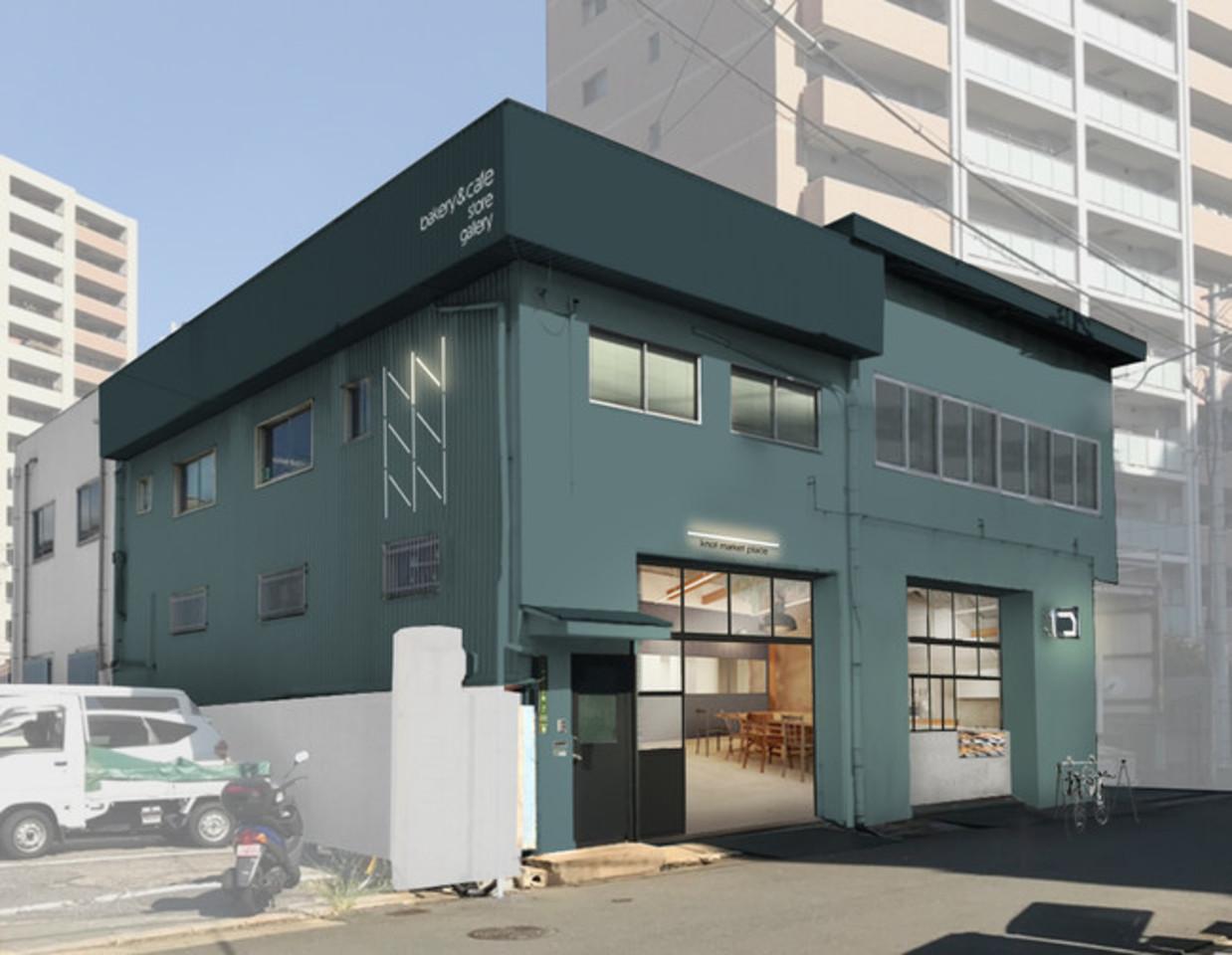 大阪市北区中津6丁目にベーカリー&カフェ「ノットマーケットプレイス」3月31日オープン!
