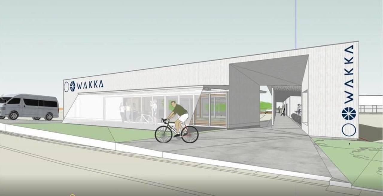 愛媛県今治市のしまなみ海道にサイクリング総合施設「WAKKA」3月26日グランドオープン!