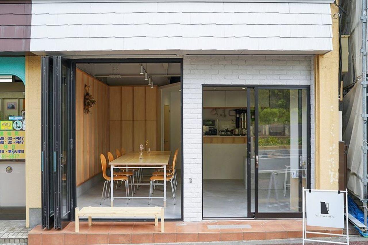 気軽に立ち寄れるコーヒースタンド...千葉市中央区松波2丁目に「フィールフリーコーヒー」本日オープン