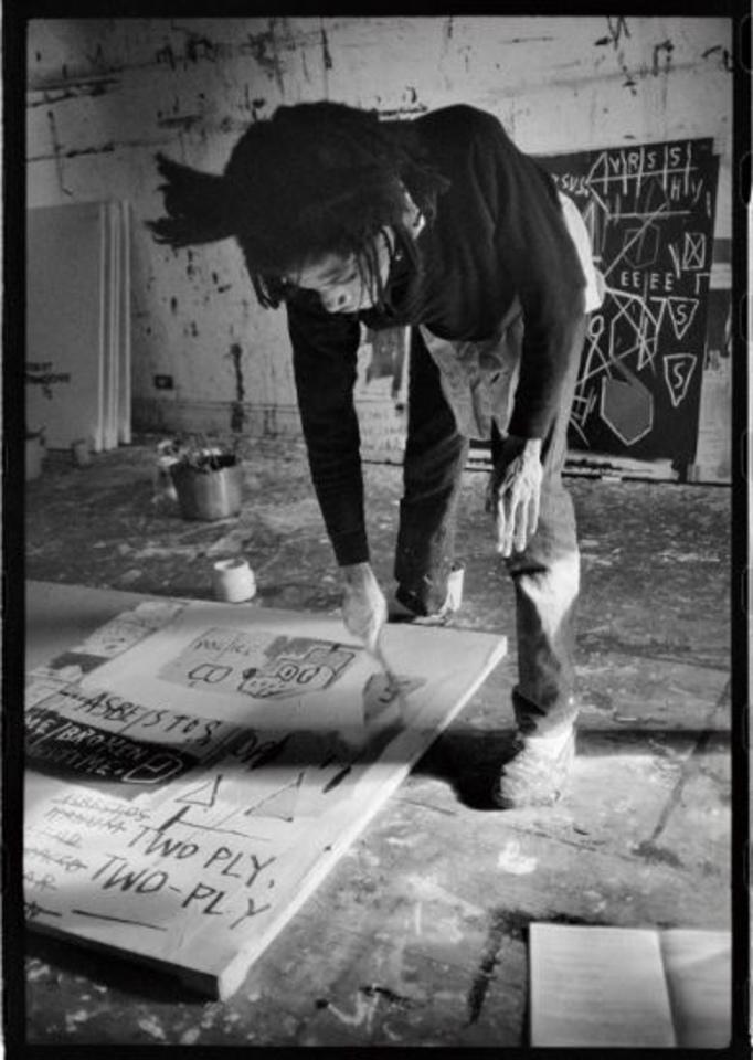 バスキアとNYアーティストたち Roland Hagenberg 写真展