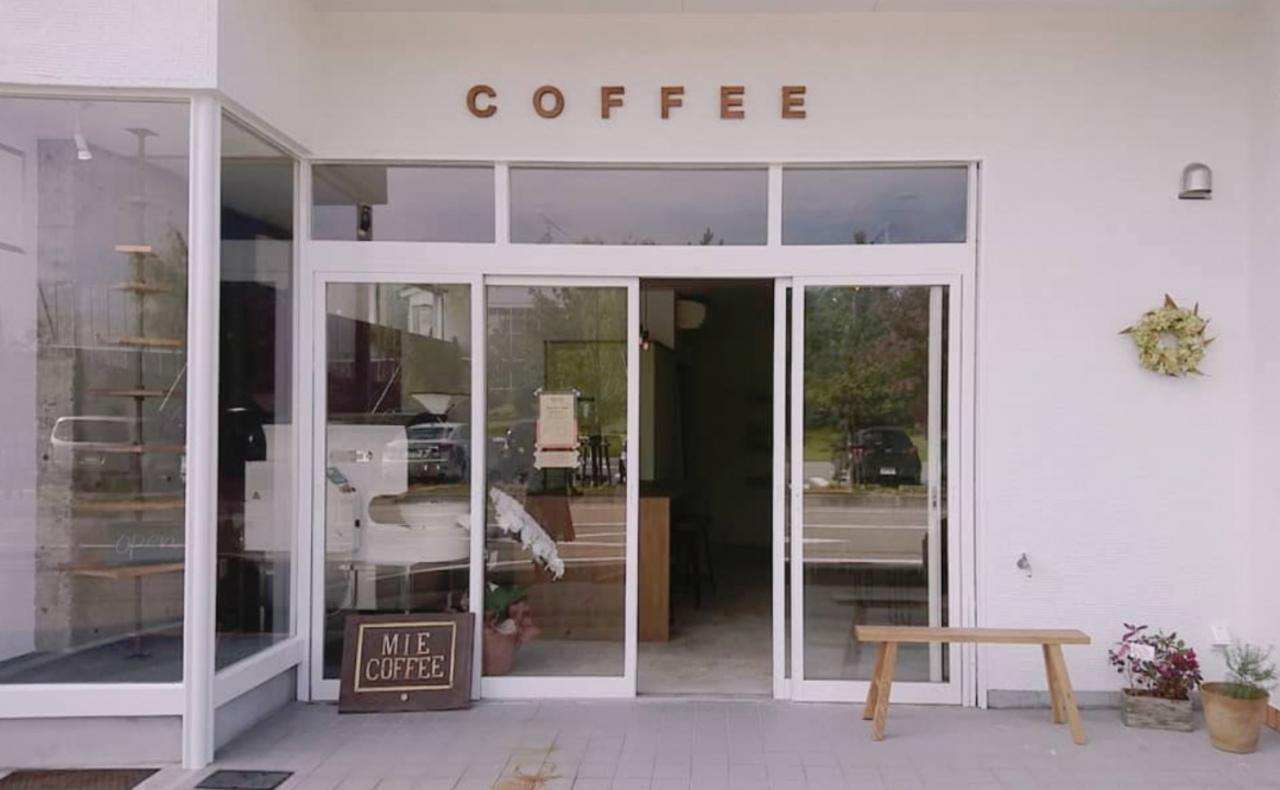 片山津温泉総湯前にコーヒー焙煎所兼スタンド「ミーコーヒー」10/25グランドオープンのようです。