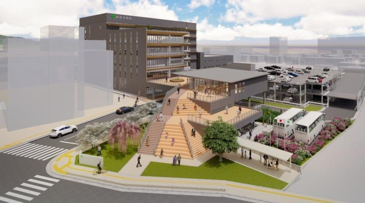 大阪府和泉市新庁舎が本日オープン!
