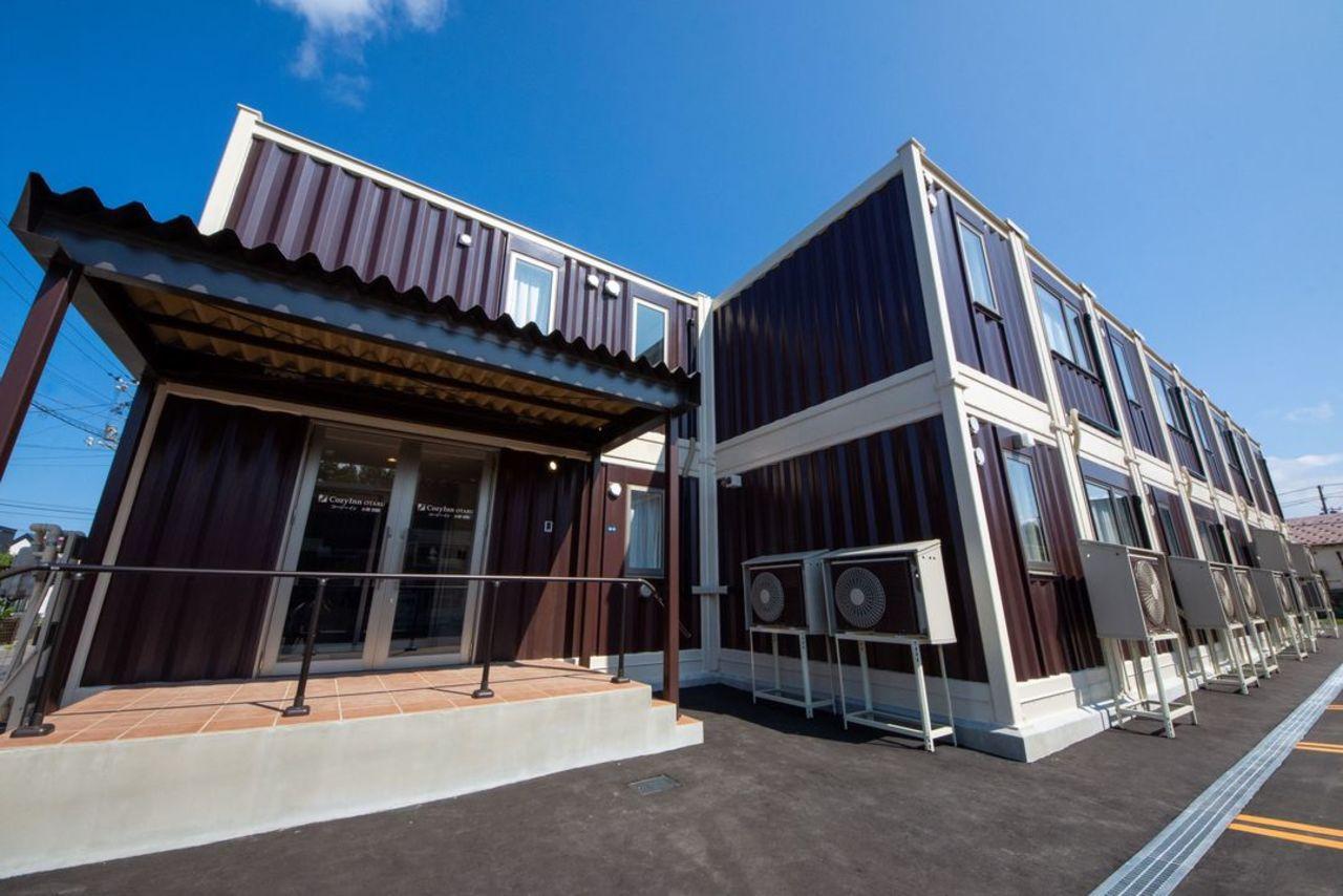 北海道小樽市のコンテナ式ホテル『コージーインおたる』7/30グランドオープン