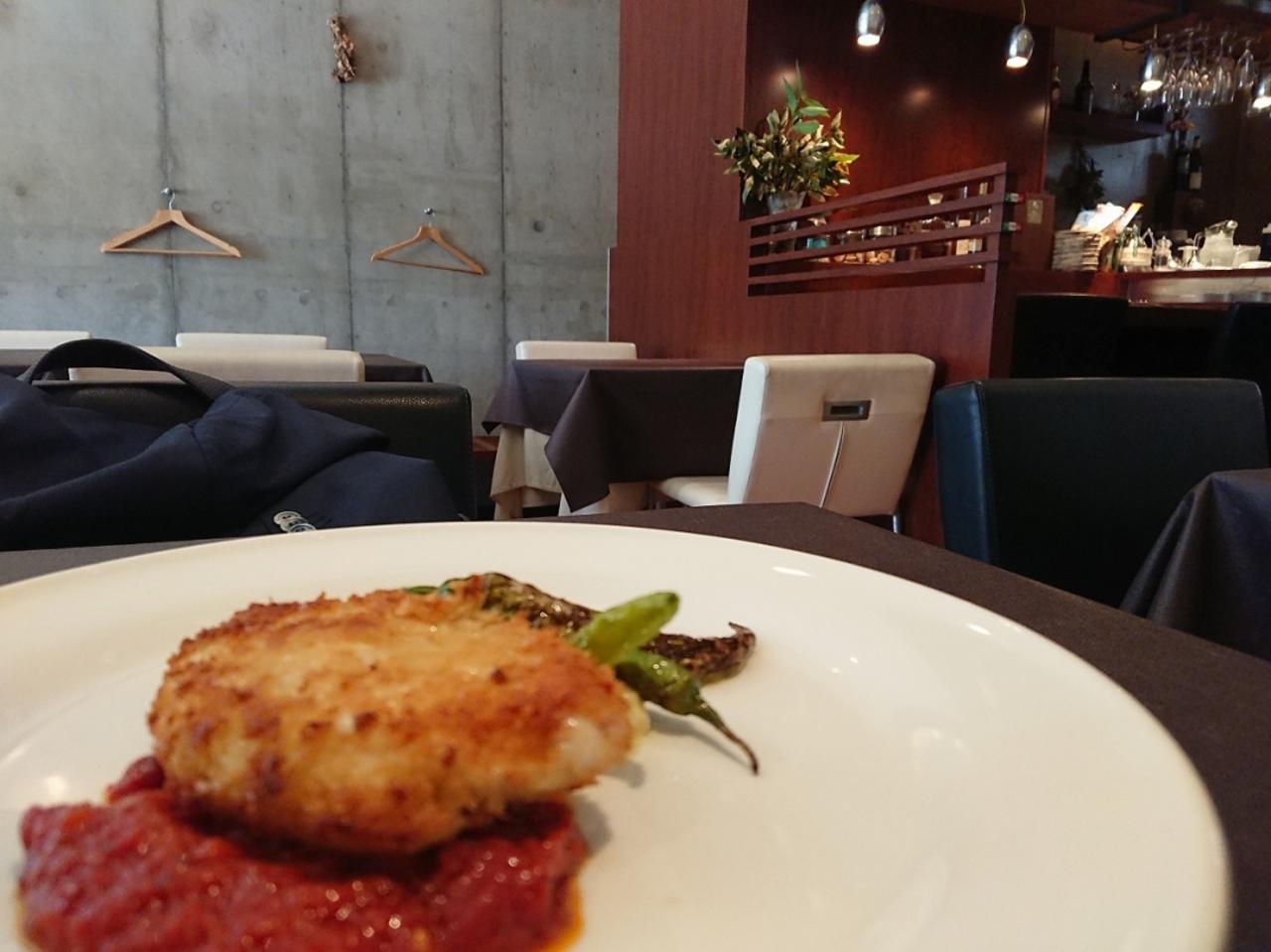 扇町駅近くのイタリア料理店「オッタントット」。。。
