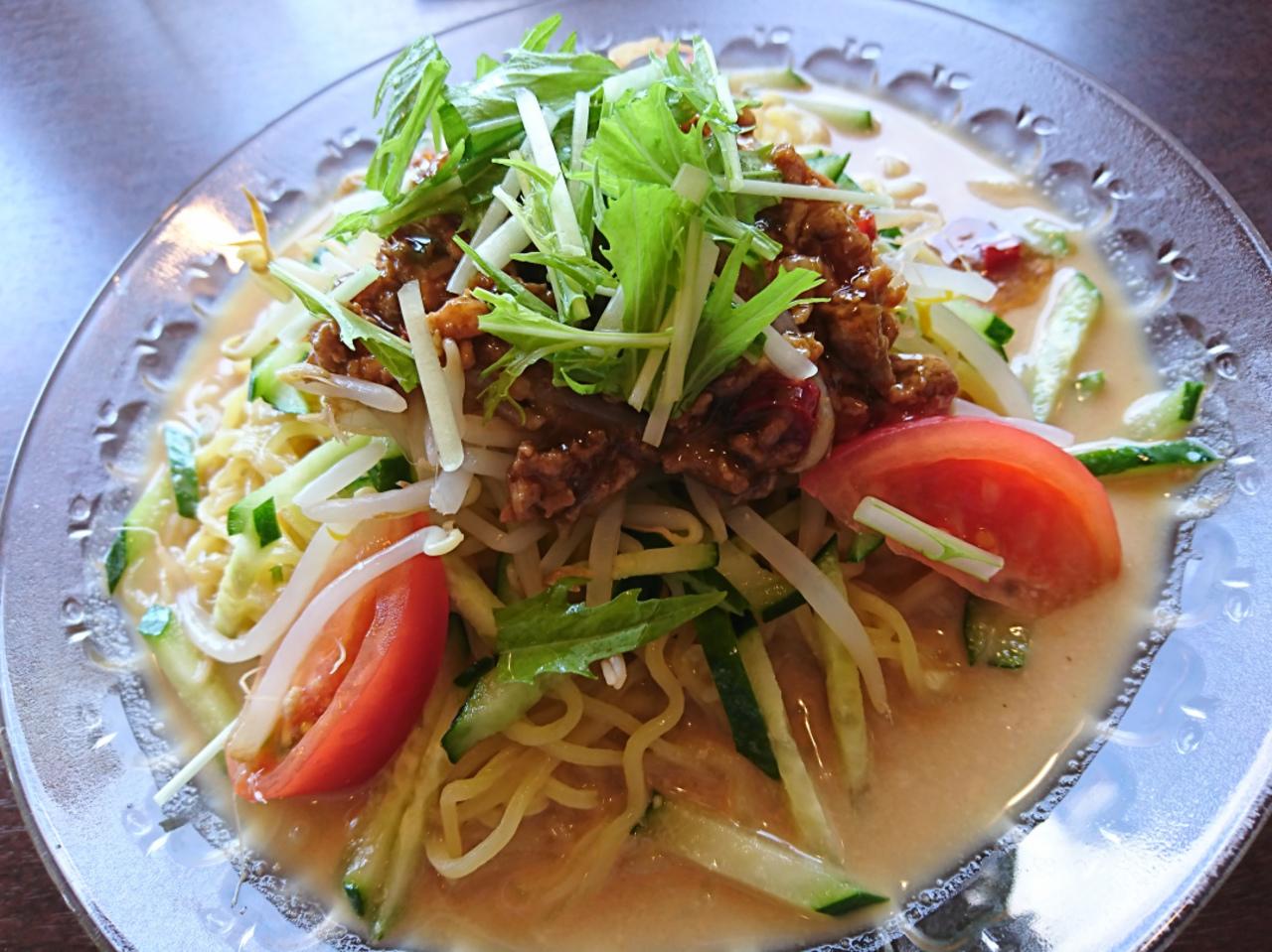 タンタン冷麺。。名張市 龍王