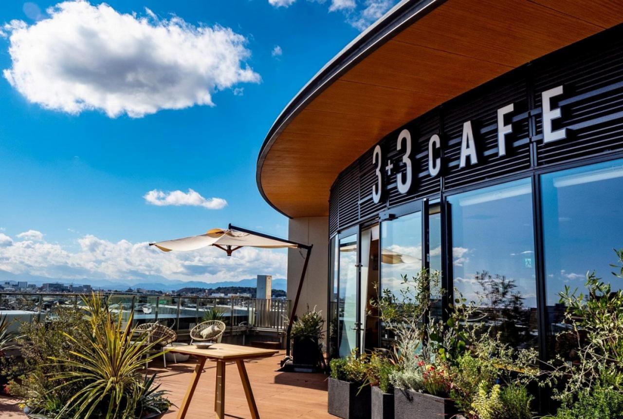 天空のカフェ...神奈川県藤沢市本町Fプレイス6Fに「サンタスサンカフェ」オープン