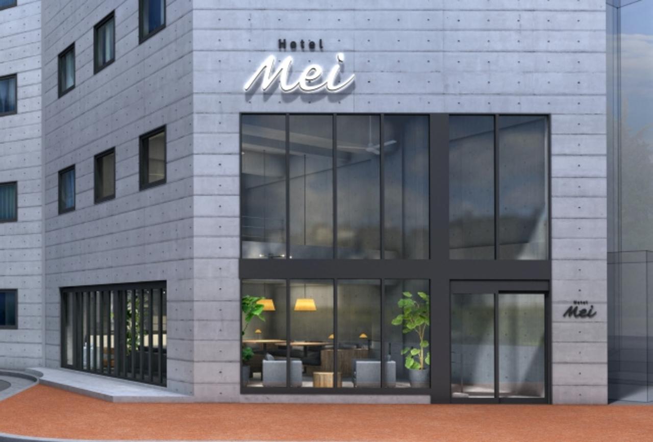 福岡市中央区のアーバンブティックホテル『Hotel Mei 福岡天神』2019.11.17open