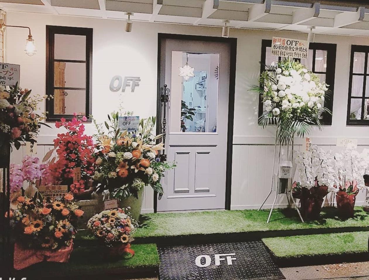 祝!7/7open『hairsalon OFF』(大阪府豊中市)