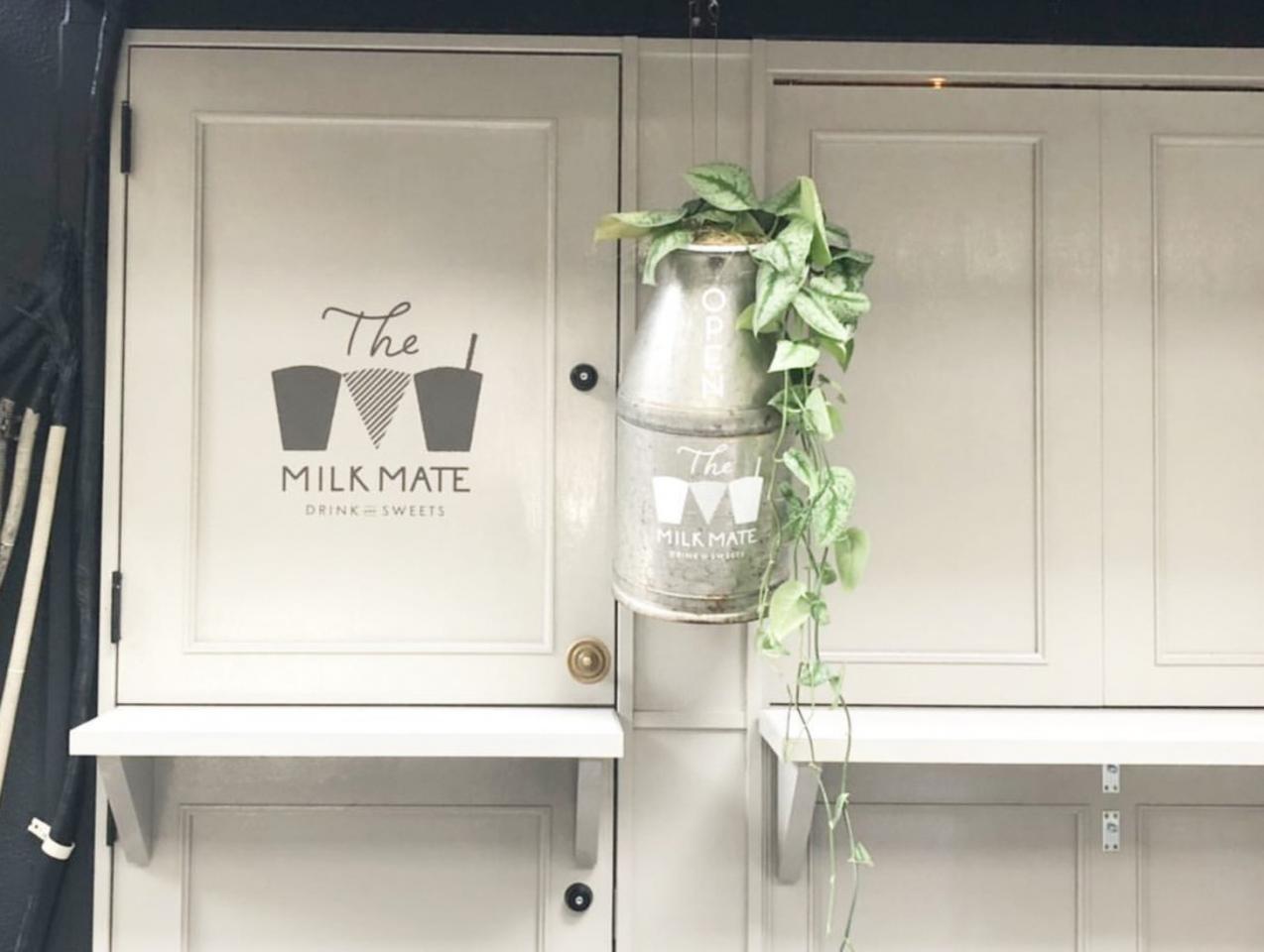ドリンクとスイーツ...福岡県北九州市小倉北区鍛冶町1丁目に「ザ・ミルクメイト」オープン