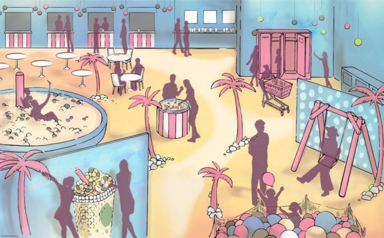 原宿駅前の商業施設jingにタピオカテーマパーク「東京タピオカランド」8月13日オープン!