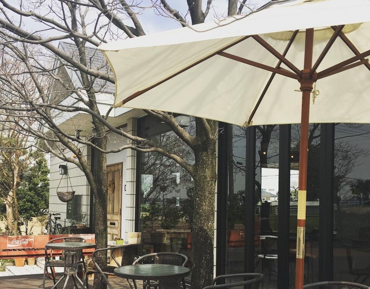 田園風景が広がるカフェ。。埼玉県さいたま市岩槻区横根の『フフフプラス』