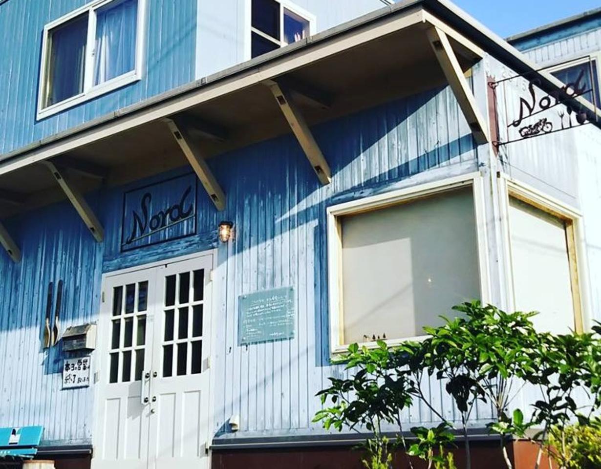 丘の上のカフェ食堂。。福岡県糸島市二丈深江の『ノール』
