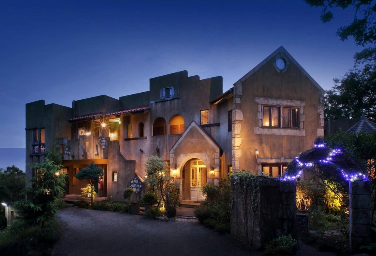 静岡県伊豆高原温泉の英国調ホテル『かえで庵』
