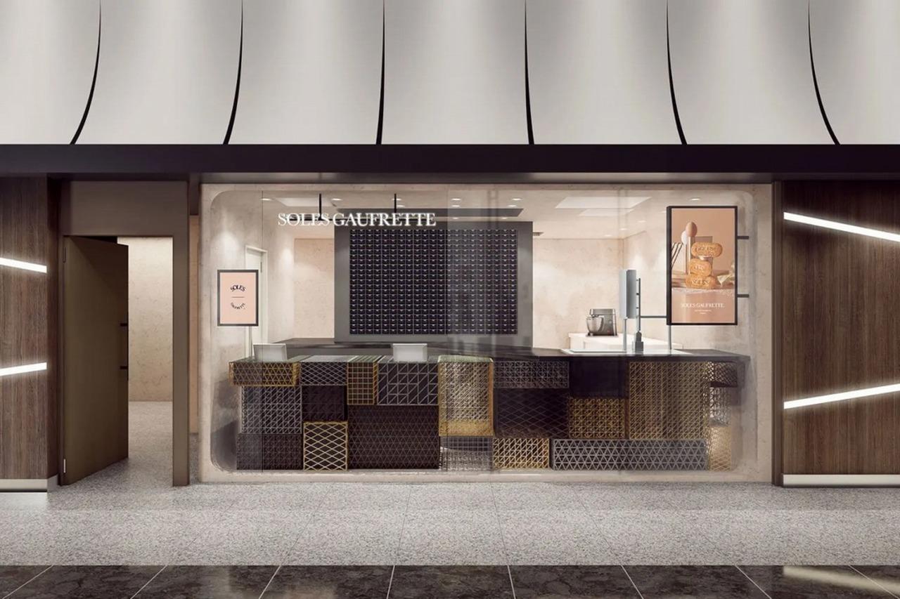 東京ギフトパレットにバターゴーフレット専門店「ソールズ ゴーフレット」8月5日オープン!