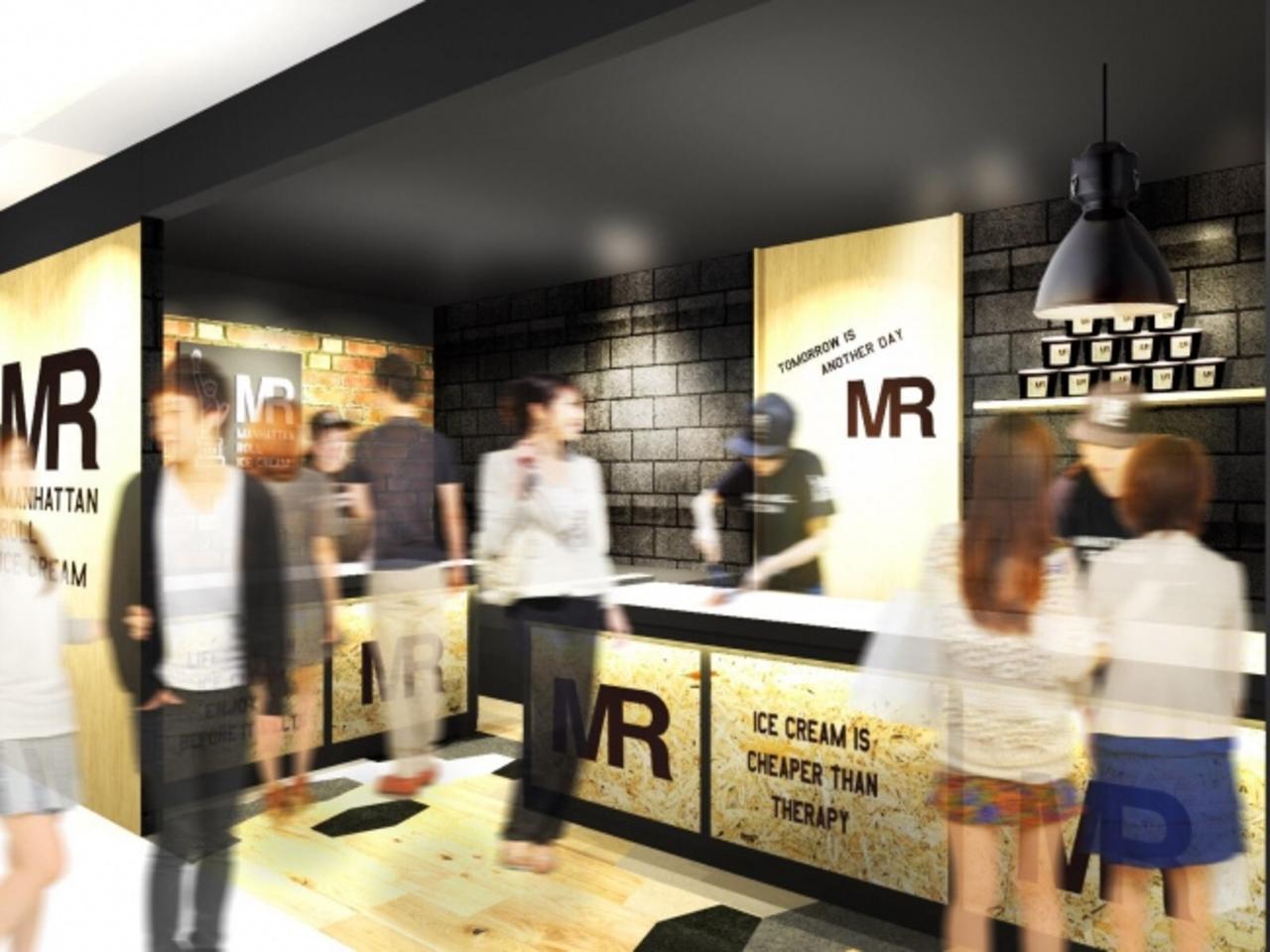 ロールアイス専門店「マンハッタンロールアイスクリーム 沖縄国際通り店」7月末頃オープン予定!