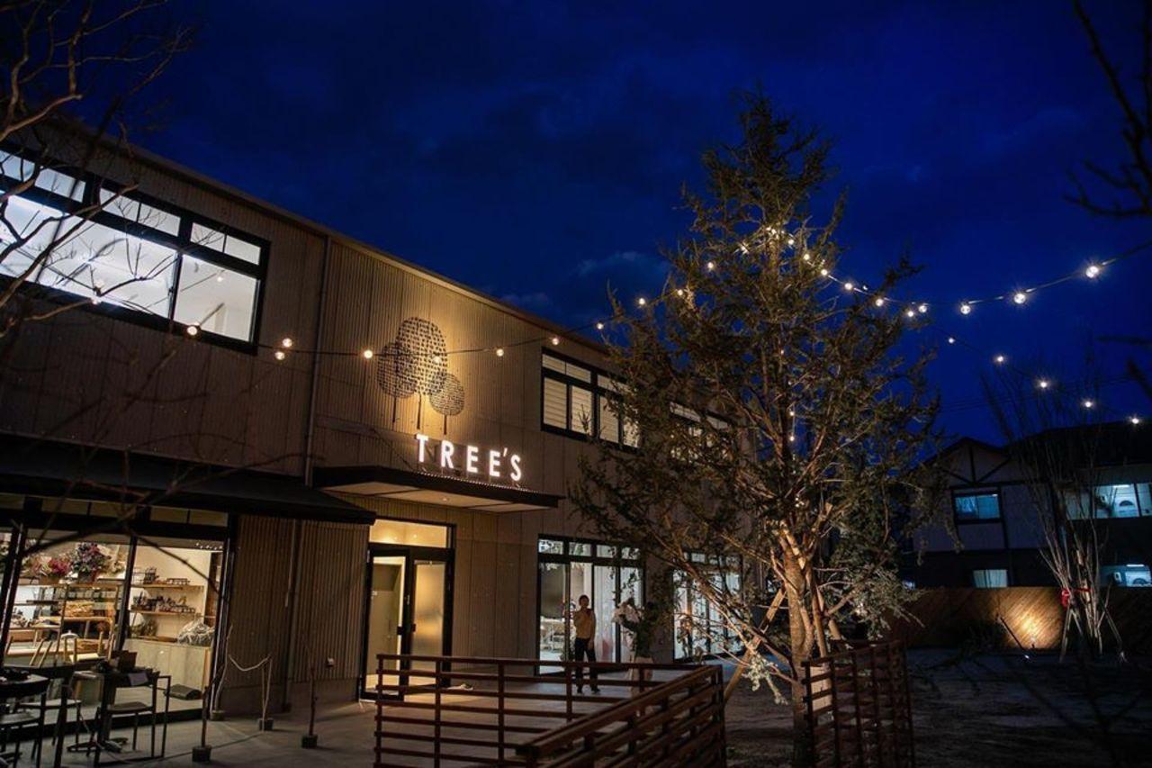 町の中の森...鳥取県米子市西福原5丁目の複合施設「ツリーズ」