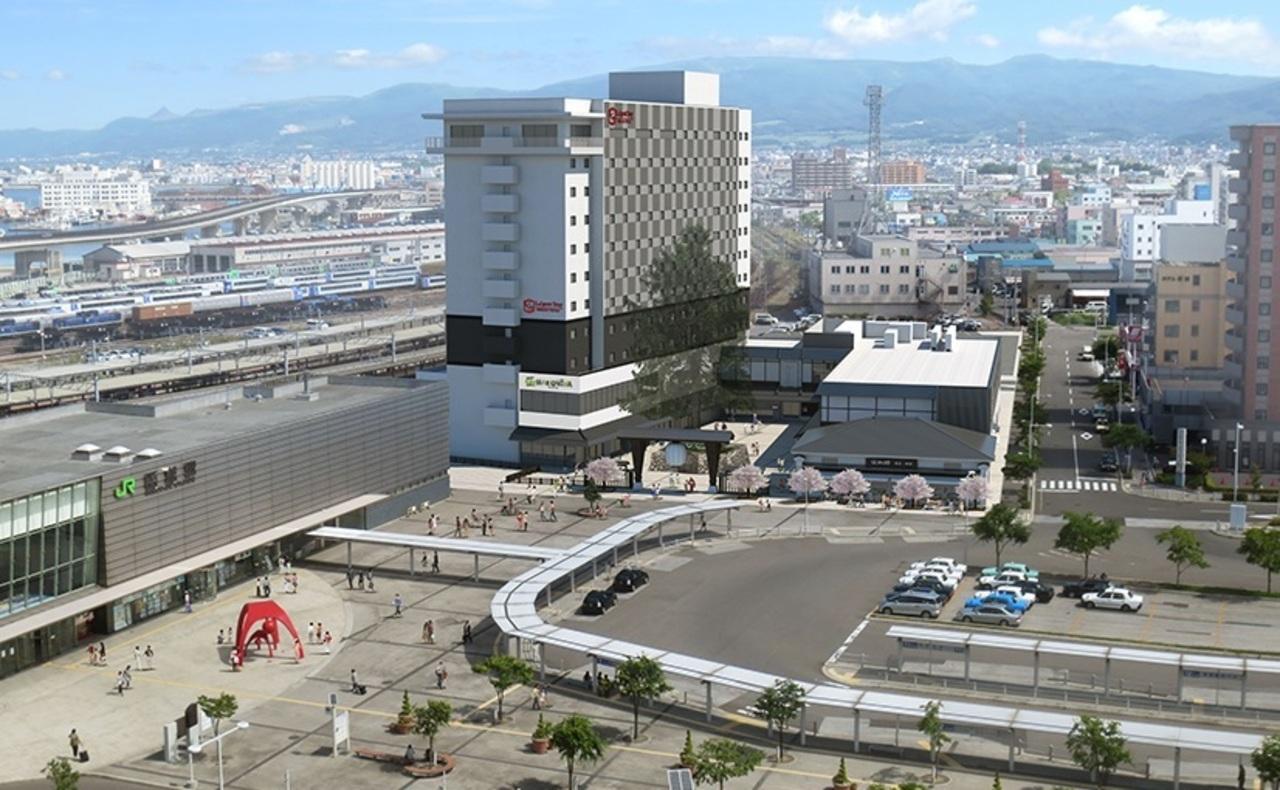 北海道函館市のJR函館駅前に複合商業施設「ハコビバ」12月1日オープン!