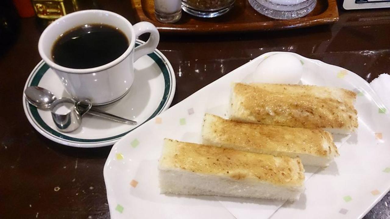本格珈琲とおいしいトースト♪