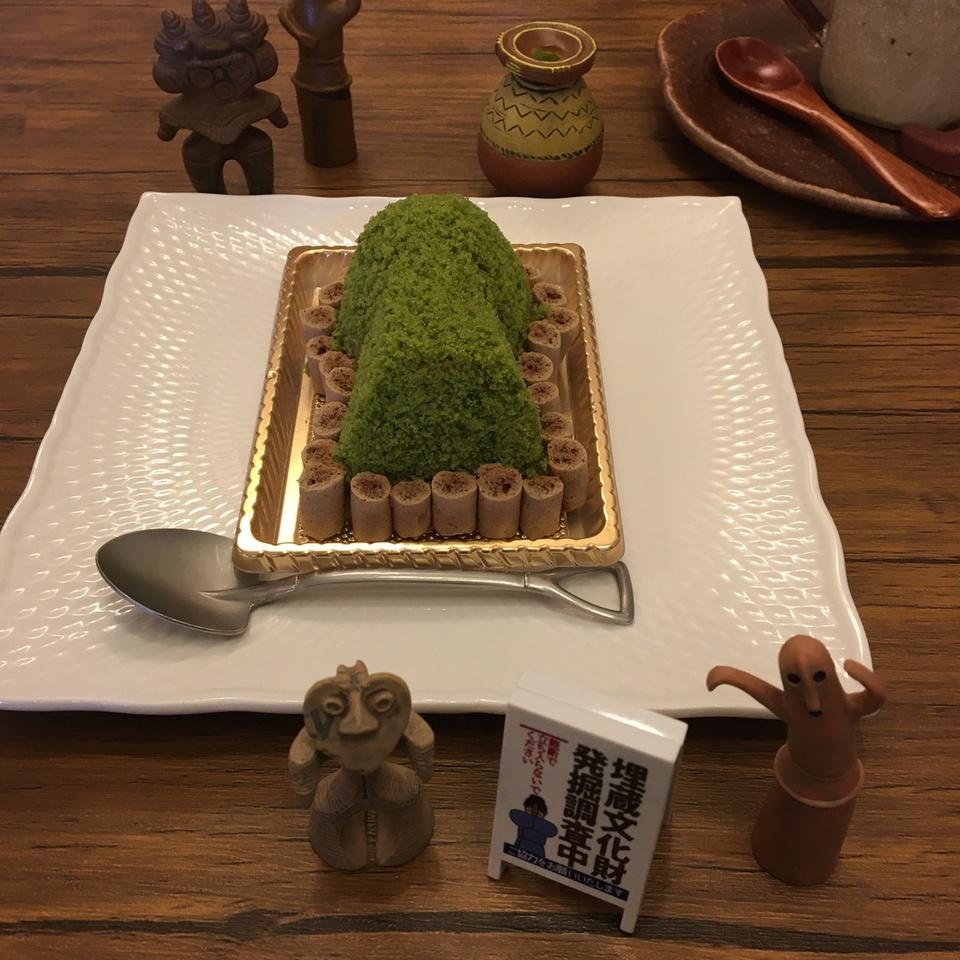[奈良駅]ぷちまるカフェ〜古墳ケーキ