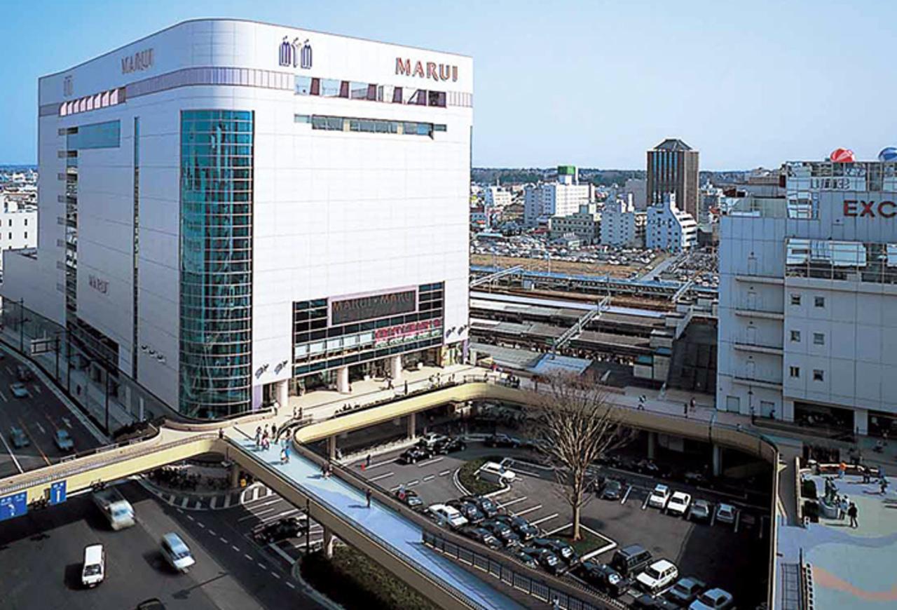 JR水戸駅北口の「丸井水戸店」9/17に閉店になるようです。
