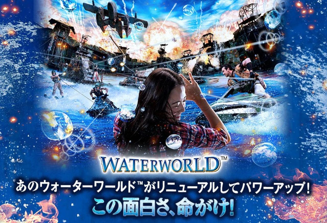 世界で累計1億人が体験、USJ「ウォーターワールド」6月1日リオープン