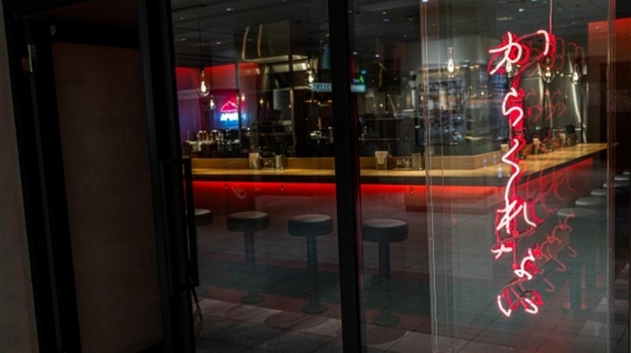 独特の世界観の辛紅2号店...東京都歌舞伎町1丁目の「AFURI辛紅 新宿サブナード」