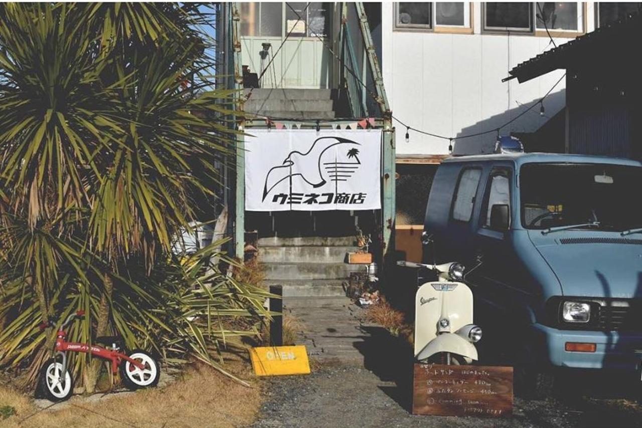 自由な時間を楽しむカフェ...福島県いわき市小名浜大原字富岡前の『ウミネコ商店』