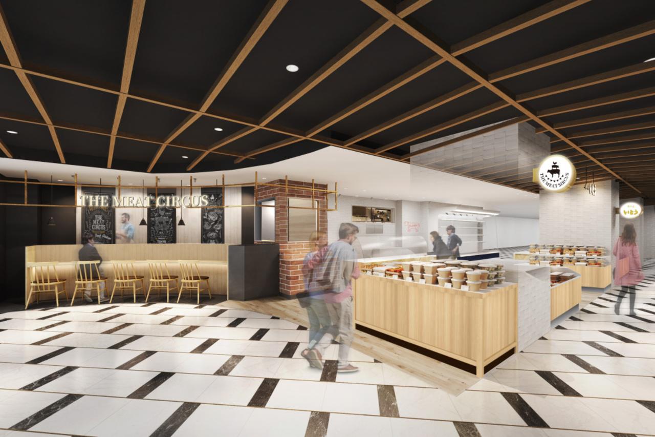 東京の錦糸町テルミナB1食品・生鮮フロアが「テルマルシェ」として11月13日リニューアルオープン!